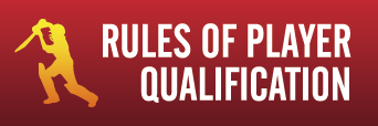 Player Qualification Rules